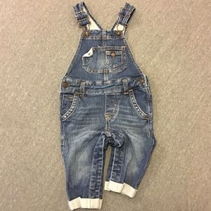 Genuine Kids by OshKosh denim overalls